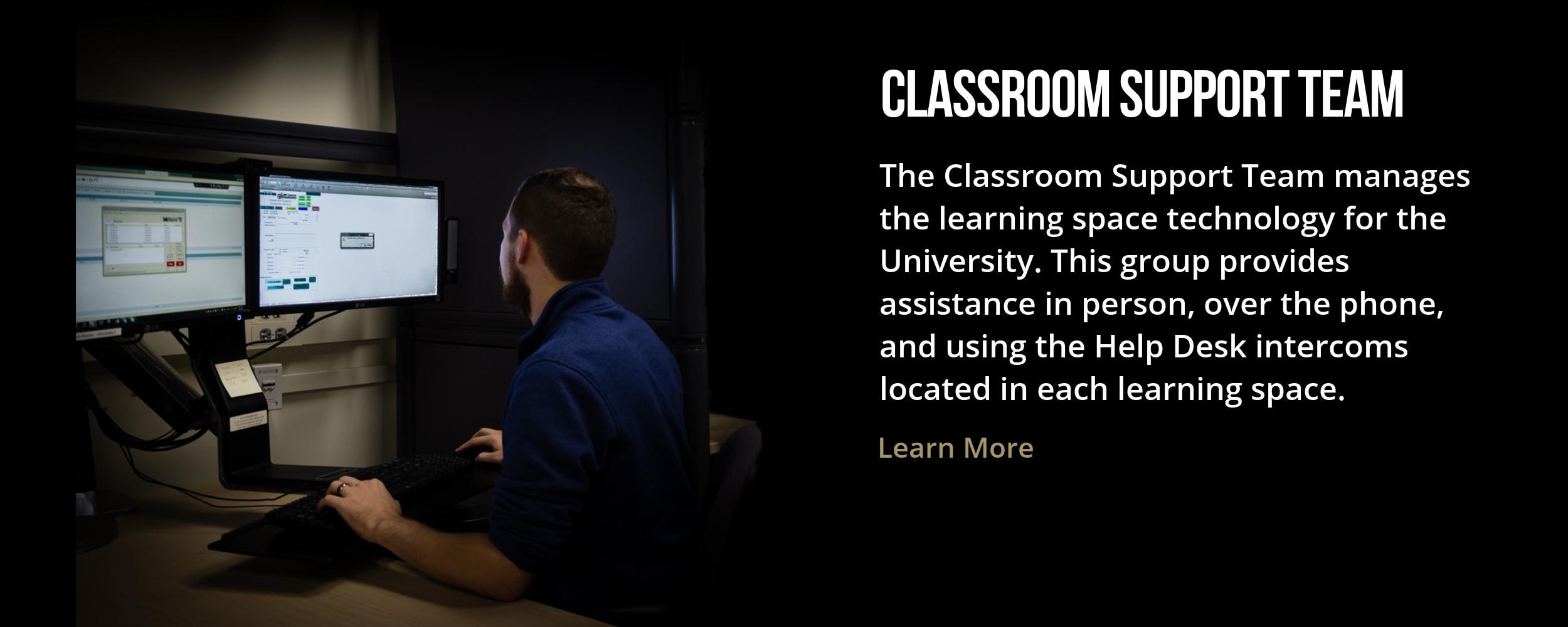 Classroom Support Team