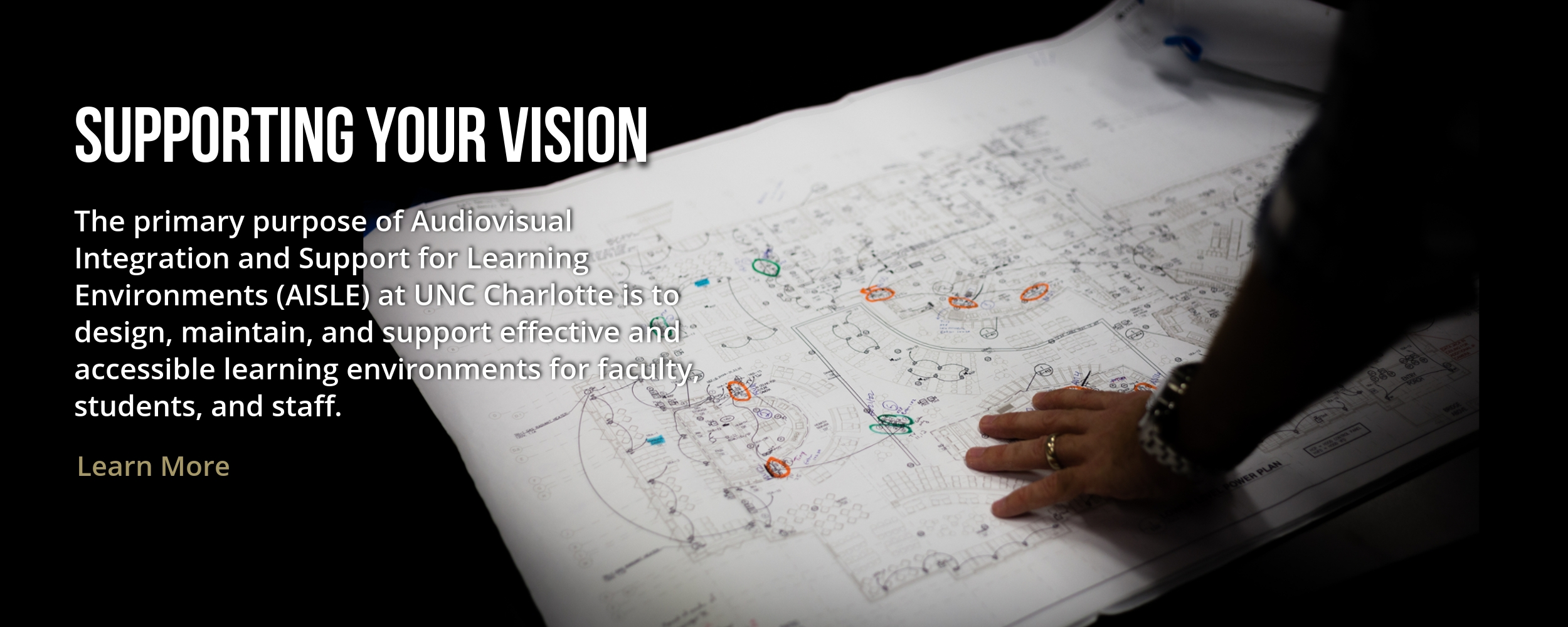 Supporting Your Vision